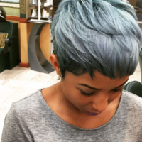 Love this silver on her! styled by @salonchristol