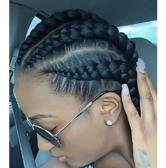 Miraculous Jumbo Cornrow Braids Are A Thing Check Out 12 Women Rocking Out Hairstyle Inspiration Daily Dogsangcom