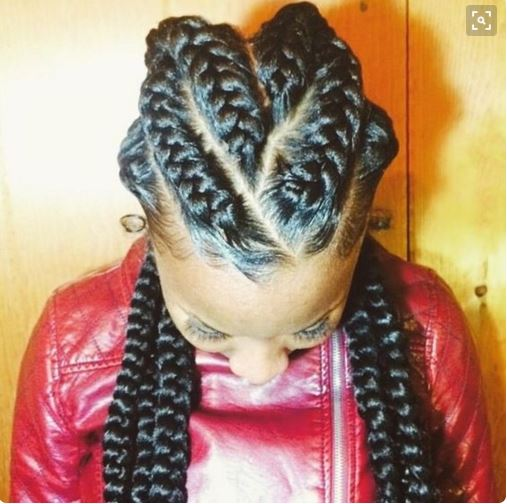Jumbo Cornrow Braids Are A Thing – Check Out 12 Women Rocking Out To ...