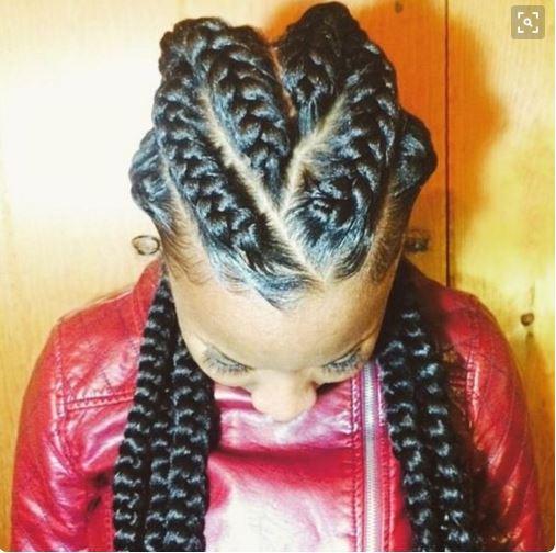 Jumbo Cornrow Hairstyles For Black Women ...