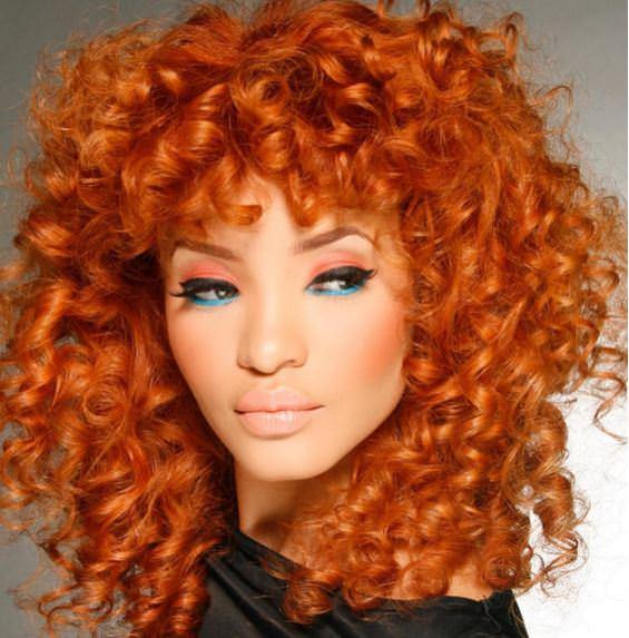 Orange hair 15