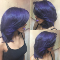 Beautiful Purple via @salonchristol