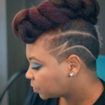 Dope! @tjluvsbeingnatural cut via @stepthebarber