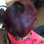 Beautiful cut and color by @1girlabouthair