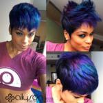 Funky hair color @modernsalon