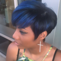 Cute cut and color by @briabel