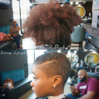Big Chop via @stepthebarber