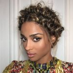 Are we digging Ciara's Golden Braided Crown?