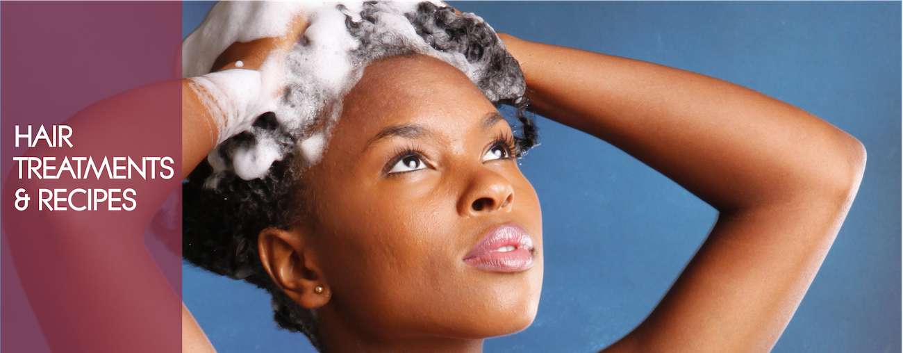slider – hair treatments and recipes