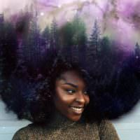 This Artist Paints The Universe In The Natural Hair Of Black Women [Gallery]