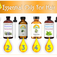 Best 6 Essential Oils For Hair Growth