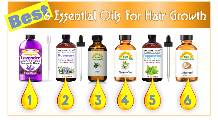 Best 15 Essential Oils For Hair Growth - Black Hair Information