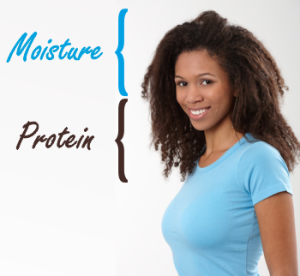Black-woman-with-long-natural-hair-moisture-in-the-roots-protein-on-the-ends-300×276