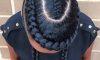 Curved braid