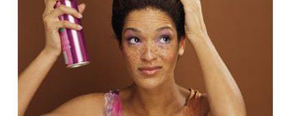 Hair Spray And Natural Hair – Bad Combo?