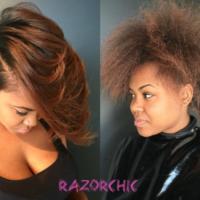 Yass Transformation! via @razorchicofatlanta
