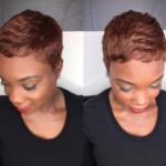 Ultra short copper pixie via @msklarie