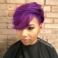 Purple craze by @ciliciarene.