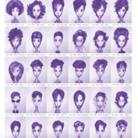The many hairstyles of Prince. Which was your fav? #RIP