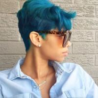 Popping blue @_gorgeousash