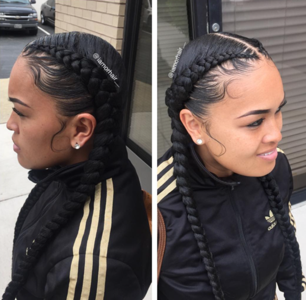 Braids And Laid Edges By Iamorhair Black Hair Information