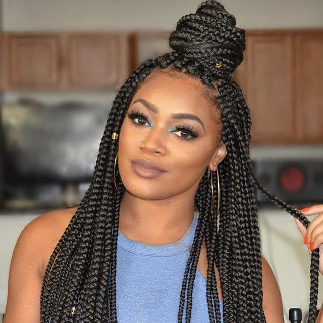 how to wash and care for high porosity hair after box braids black