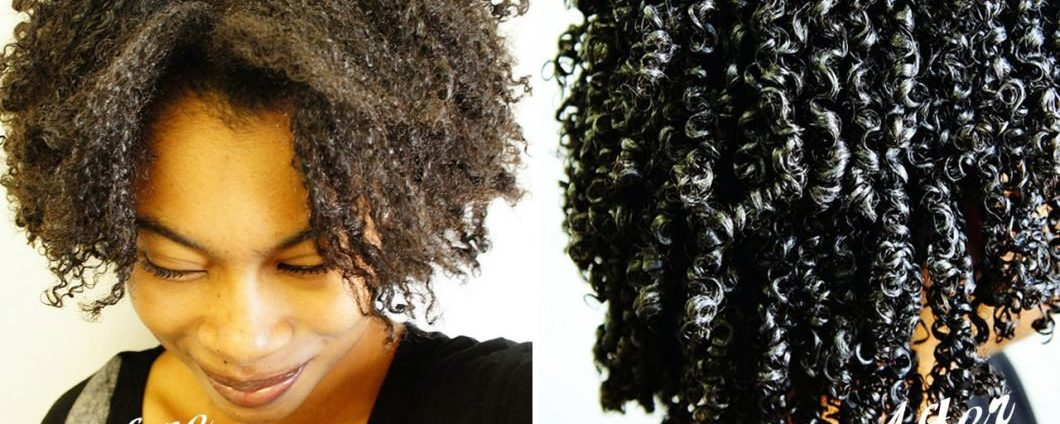 DIY Extra Hold White Tea and Ginger Hair Gel For A Defined Wash and Go