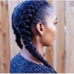Dutch Braids Are Classic, Protective And These 9 Women Are Rocking Them Beautifully [Gallery]