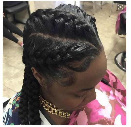 Hairstyles For Black Women With Thin Edges | Best Hairstyles ...