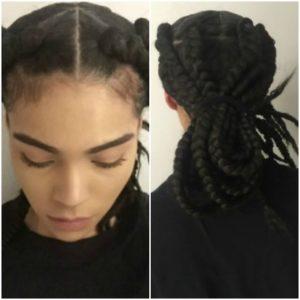 natural hair zara