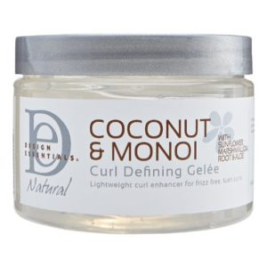 Design Essential's Coconut and Monoi Curl Defining Gelee
