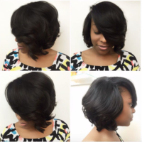 Her sew-in looks so natural! by @hairbylatise