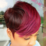 Beautiful cut and color via @razorchicofatlanta