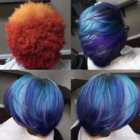 Nice hair color transformation via @cynthialumzy