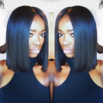 Love this blunt bob by @mercedes_maddox
