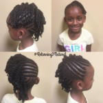 Adorable braid and twist hawk via @returning2natural