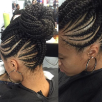 Nice braid pattern via @narahairbraiding