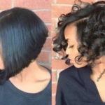 Bob style variation via @hairbychantellen