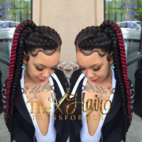 Love this braided pony by @the_hairtransformer