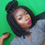 Beautiful bob faux loc wig @makeupbyshalom