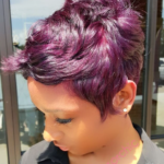Pretty purple @razorchicofatlanta