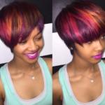 Edgy color blend via @msklarie