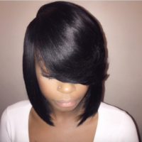 Beautiful bob by @hairartistrybybri