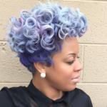 Gorgeous pastel curls @salonchristol