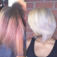 Amazing color color correction by @hairbychantellen