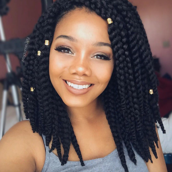 Crochet Braids Salon : Lovely crochet braids @imadamejay - Black Hair Information