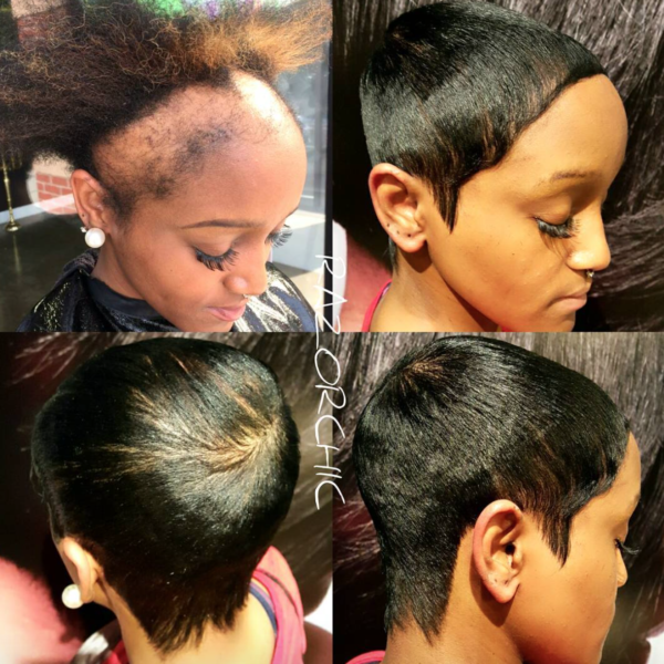 Wow Edges Renewed By Razorchicofatlanta Black Hair
