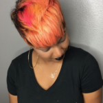 Bold peach color via @khimandi