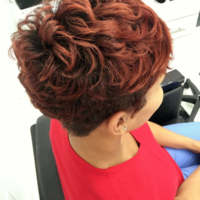 Beautiful natural pixie via @artistry4gg