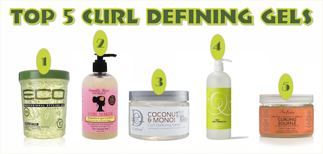 My Top 5 Must Have Curl Defining Gels For Defined Curls Black Hair